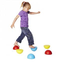 Egyensúlyozó mintás félgömb Sportszer Gonge