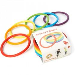 Készségfejlesztő karika 6 db-os Sportszer Gonge