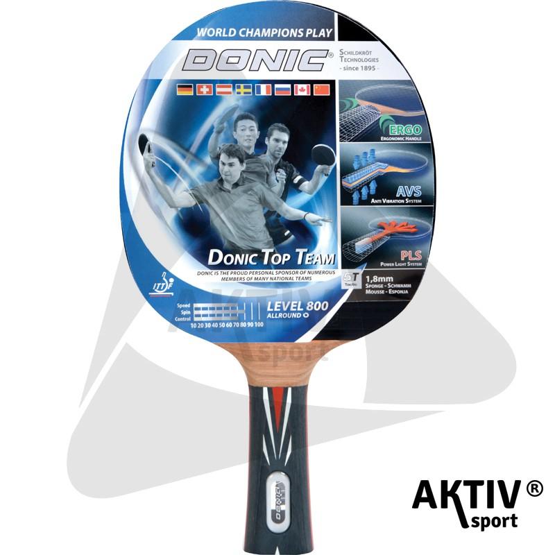 Donic Top Team 800 ping-pong ütő - Aktívsport Web-áruház és sportbolt b2919c671b