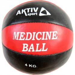 Aktivsport medicinlabda 4 kg bőr Sportszer Aktivsport
