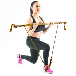 Fitnesz rúd Gymstick Original szupererős arany Sportszer Gymstick