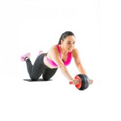 Erősítő kerék AB roller Gymstick Sportszer Gymstick