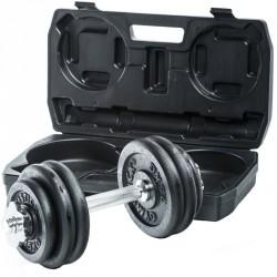 Állítható súlyzószett Gymstick 15 kg Sportszer Gymstick