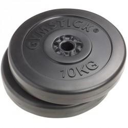 Súlyzótárcsa Gymstick vinyl 2x10kg Sportszer Gymstick