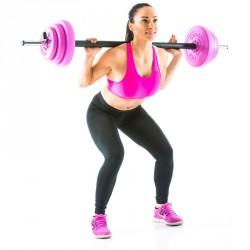 Súlyzó szett Gymstick 20 kg Sportszer Gymstick