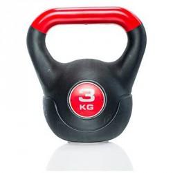Kettlebell Gymstick 3 kg műanyag Sportszer Gymstick