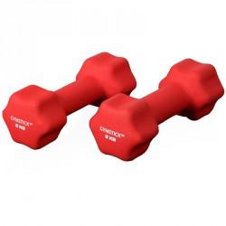 Neoprén súlyzók Gymstick 2x2 kg piros Sportszer Gymstick