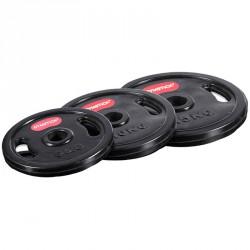 Gumiperemes súlytárcsa Gymstick 20 kg Sportszer Gymstick