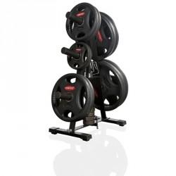 Súlyzótárcsa állvány Gymstick Olympic Sportszer Gymstick