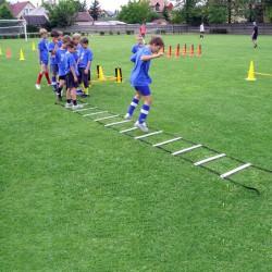 Aktivsport Ügyességi létra/koordinációs rács 2x5 m Sportszer Aktivsport