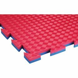 Puzzle sportpadló Trendy Sportmat Profi 100x100x2 cm kék-piros 3123BR Sportszer Trendy