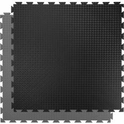 Puzzle sportpadló Trendy Sportmat Profi 100x100x2 cm szürke-fekete 3123SG Sportszer Trendy