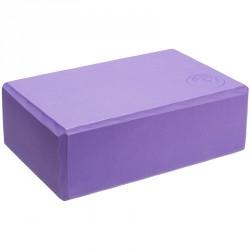 Trendy Jóga tégla 23x15x7,5 cm lila Sportszer Trendy