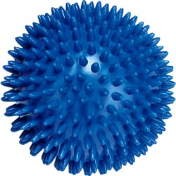 Tüskés masszírozó labda Trendy 10 cm kék Sportszer Trendy
