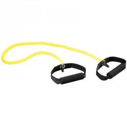 Erősített gumikötél gyenge sárga Sportszer Trendy
