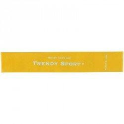 Láberősítő gumihurok Trendy gyenge sárga Sportszer Trendy