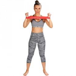 Láberősítő gumihurok Trendy közepes piros Sportszer Trendy