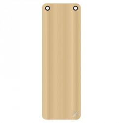 Trendy ProfiGymMat 180x60x1 cm fitnesz szőnyeg bézs felakasztható