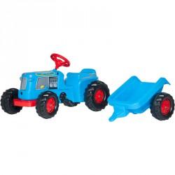 Pedálos markolós traktor utánfutóval Rolly Kiddy Classic Pedálos járművek Rolly Toys