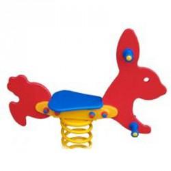 Rugós játék, nyuszi Játszótéri eszközök