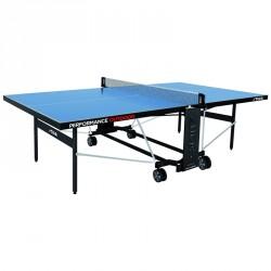 Stiga ping-pong asztal Performance kültéri, kék, hálóval és hálótartóval Sportszer Stiga