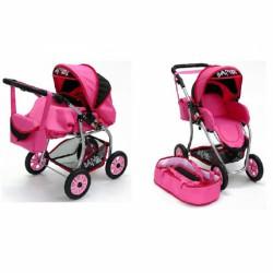 Babakocsi Bambi IV. rózsaszín Babakocsik