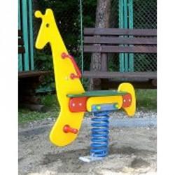 Rugós játék, zsiráf Játszótéri eszközök