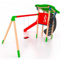 Torony hintával I. Swing Játszótéri eszközök
