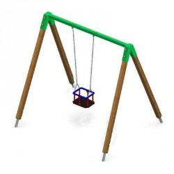 Együléses lengőhinta, gyerekhintával Játék