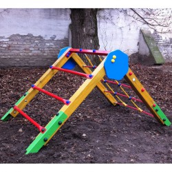 Háromszög mászóka Játszótéri eszközök