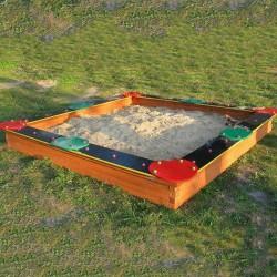 Homokozó 250x250 cm Homokozók