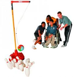 Spordas lengőteke kiegészítő labda, kötél, kar, 10 db bábú Sportszer Megaform