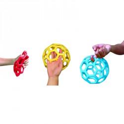 Rácsos labda 21,6 cm 6 db-os Sportszer Megaform