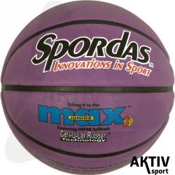 Spordas Max Color kosárlabda, 5-ös, lila Sportszer Megaform