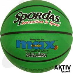 Spordas Max Color kosárlabda, 7-es zöld Sportszer Megaform