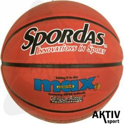 Spordas Max Color kosárlabda, 7-es piros Sportszer Megaform