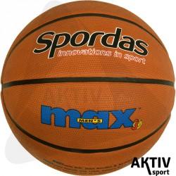 Spordas Max Color kosárlabda 7-es barna Sportszer Megaform