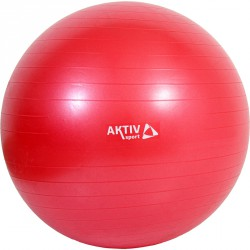 Durranásmentes labda Aktivsport 75 cm piros BLACK FRIDAY Aktivsport