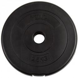 Aktivsport Cementes súlyzótárcsa 2,5 kg 35 mm Sportszer Aktivsport