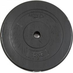 Aktivsport Cementes súlyzótárcsa 15 kg 35 mm Sportszer Aktivsport