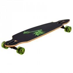 Longboard gördeszka Bamboo 42 Sportszer Spartan