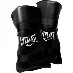 Everlast Lábszárvédő lábfejvédővel fekete Térdvédők, könyökvédők, bandázs Everlast