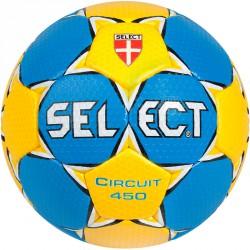 Kézilabda Select Circuit sárga - kék 450 g Labdák Select