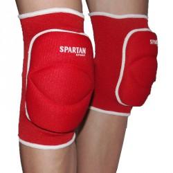Volley térdvédő felnőtt piros Sportszer Spartan