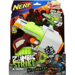 Szivacslövő fegyver Nerf Zombie Strike Sidestrike Fegyverek Nerf