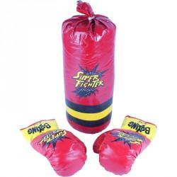 Gyermek boksz szett piros Sportszer