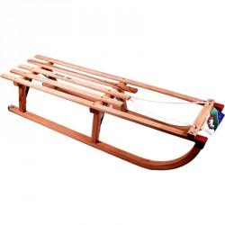Fa szánkó kötéllel 100 cm Játék