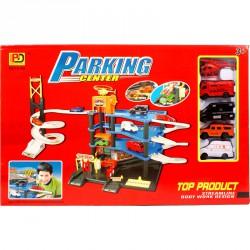 Parkolóház 4 autóval és helikopterrel Autópályák, parkolóházak