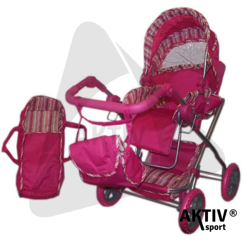 Babakocsi mély táskás pink - Babakocsik  1b75180d61