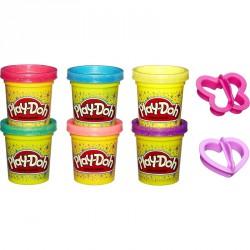 Gyurma szett Play-Doh csillámos Gyurma Play-Doh